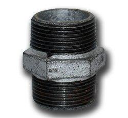 Niplu filetat metalic